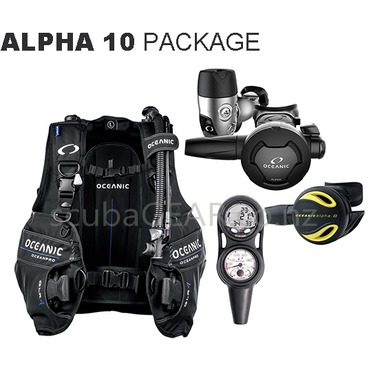 Oceanic Alpha 10 Package