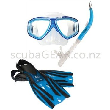 Oceanpro Eclipse Mask Snorkel Fin set